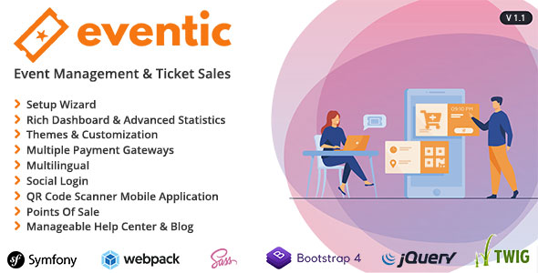 Eventic - Ticket Sales and Event Management System