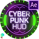 Cyberpunk HUD Elements for After Effects - VideoHive Item for Sale