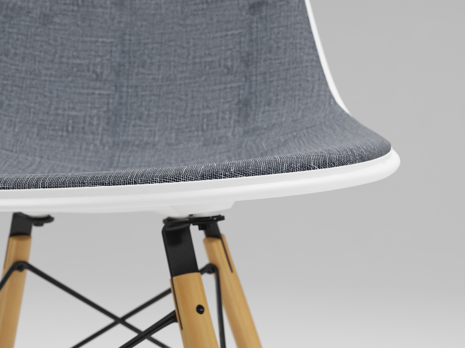 Photoreal Eames Chair   DSW + Vray Materials