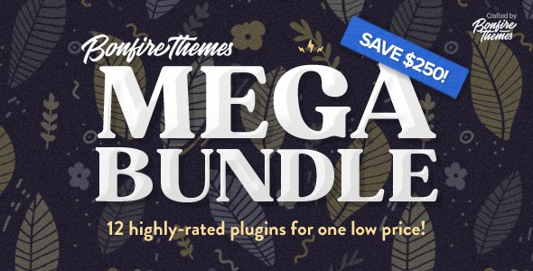 WordPress Plugins MEGA Bundle, by Bonfire