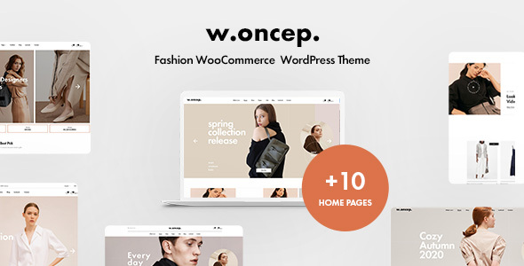 Woncep - Fashion WooCommerce WordPress Theme