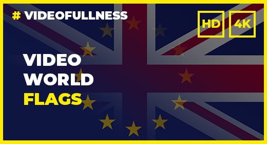 Video Background World Flags