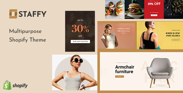 Staffy - The Responsive Multipurpose Shopify eCommerce Theme