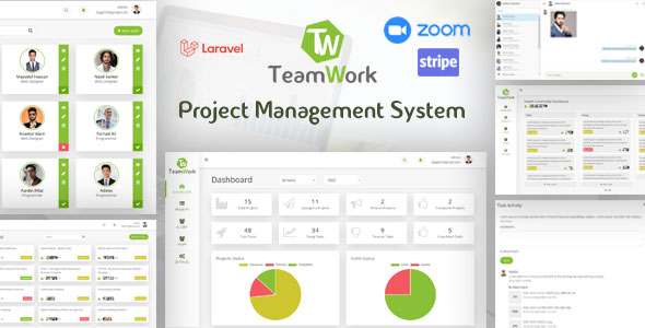TeamWork Laravel - Project Management System
