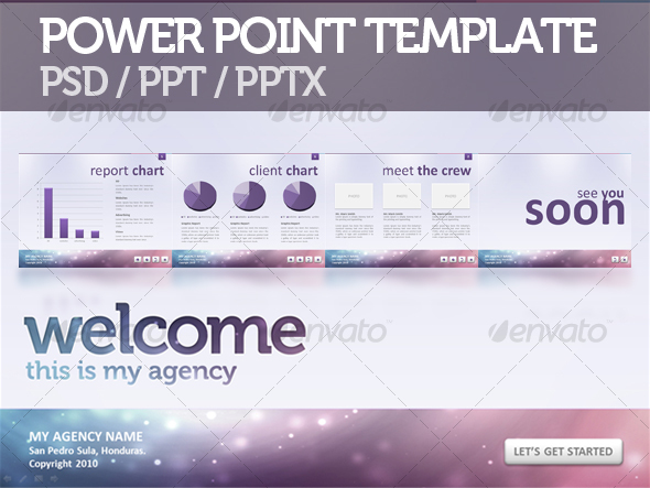 Create powerpoint presentation graphics in photoshop modern agency presentation 20 by eamejia pronofoot35fo Images