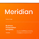 Meridian – Business PowerPoint Template