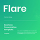Flare – Business PowerPoint Template