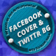 Facebook Timeline Cover & Twitter Background - GraphicRiver Item for Sale