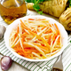 Salad of parsnip and carrot on napkin - PhotoDune Item for Sale