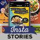 Fun Casual Food Menu Instagram Stories - VideoHive Item for Sale