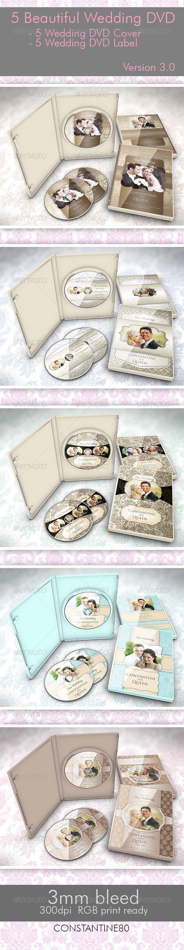 5 Beautiful Wedding DVD Ver 3.0 - Weddings Cards & Invites