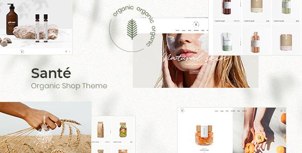 Santé - Organic Shop Theme