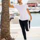 Placeit – Man stretching after exercise in a harbour - PhotoDune Item for Sale