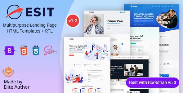 Esit - Multipurpose Landing Page HTML Template