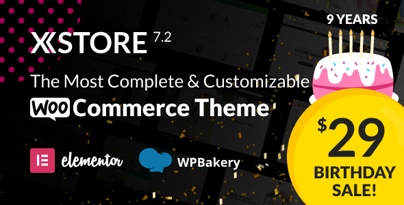 XStore |  Highly Customizable WooCommerce Theme