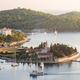 Vis town, Franciscan monastery and harbour, Vis Island, Croatia - PhotoDune Item for Sale