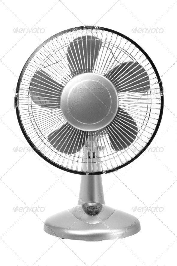 Electric Fan - Stock Photo - Images