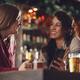Girlfriends in bar - PhotoDune Item for Sale