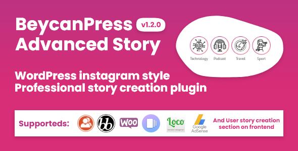 Download BeycanPress Advanced Story – WordPress ?nstagram style stories plugin Free Nulled