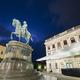 Vienna Albertina And Lightning, Austria - PhotoDune Item for Sale