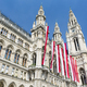 Vienna City Hall And Flags, Austria - PhotoDune Item for Sale