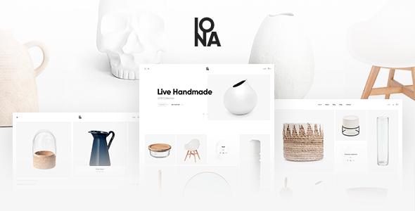 Excellent Iona - Handmade & Crafts Shop WordPress Theme