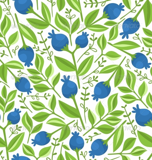 Berries Pattern - Patterns Decorative