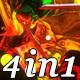 Neon Planet - VJ Loop Pack (4in1) - VideoHive Item for Sale