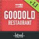 Goodold Restaurant - HTML Template Nulled
