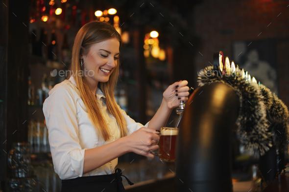 Bartender - Stock Photo - Images