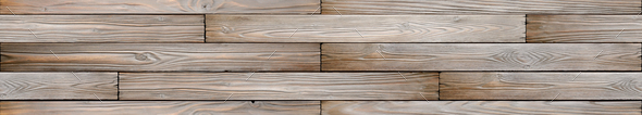 Authentic dark wooden planks texture seamless background - Stock Photo - Images