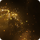 Golden Particles Widescreen Background - VideoHive Item for Sale