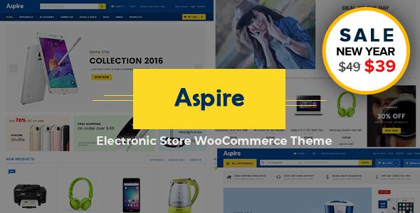 Incredible Aspire - Multipurpose Responsive WooCommerce WordPress Theme