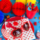 Colorful table setting for a party - PhotoDune Item for Sale