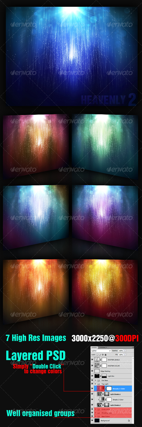 Heavenly Background 2 - Backgrounds Graphics