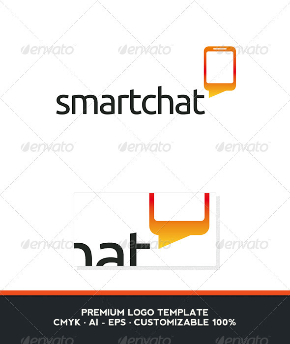 Smart Chat Logo Template - Objects Logo Templates