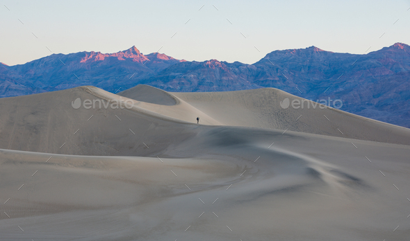 Sand Dunes of America - Stock Photo - Images