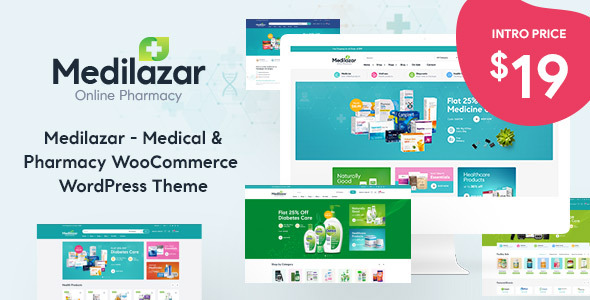 Medilazar - Pharmacy WooCommerce WordPress Theme