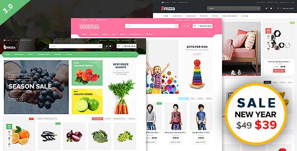 Wondrous Brezza - Fruit Store Multipurpose WooCommerce WordPress Theme