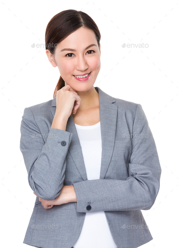 Young Businesswoman - Stock Photo - Images