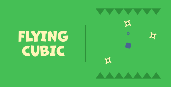 Flying Cubic | HTML5 | CONSTRUCT 3