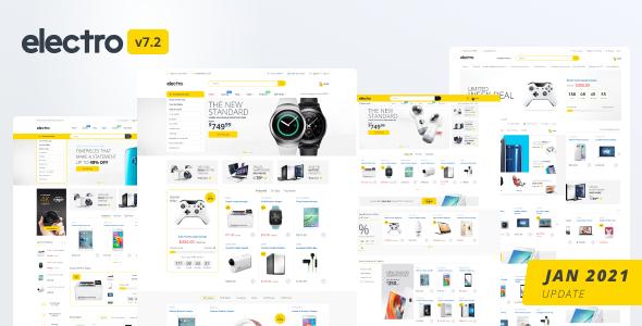 Electro Electronics Store Shopify Theme