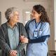 Caregiver assist senior woman at home - PhotoDune Item for Sale