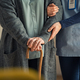 Nurse assisting senior with walking cane - PhotoDune Item for Sale