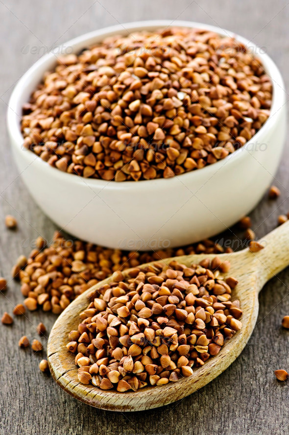 Buckwheat Grain - Stock Photo - Images