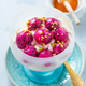 White Greek Yogurt with dragon fruit and sweet honey - PhotoDune Item for Sale