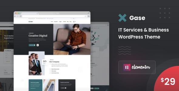 Gase - IT Services & Business WordPress Theme