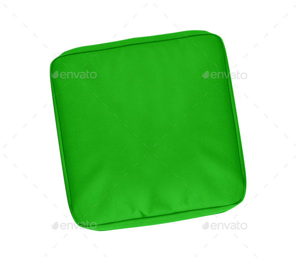 Green Accessory Carrying Case - Stock Photo - Images
