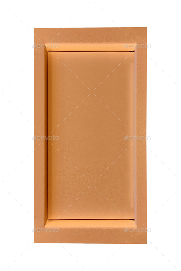 Metal box isolated - Stock Photo - Images