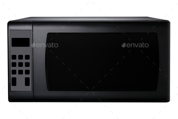 Microwave stove isolated - Stock Photo - Images